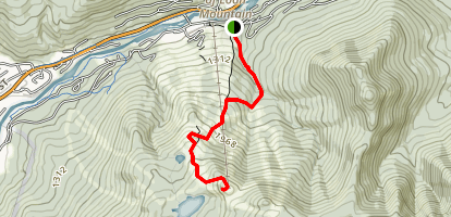 Loon Service Road Trail Map
