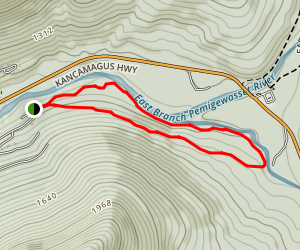 Serendipity Loop Trail Map