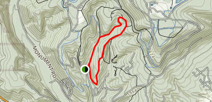 Rock and Ridge Trail Map
