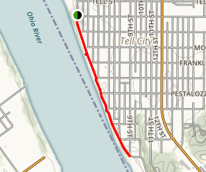 Tell City Riverwalk Map