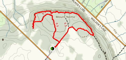 Mount Nemo Loop Map
