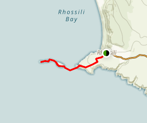 Worm's Head Trail Map