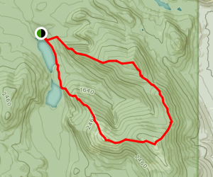 North Traveler Mountain Trail to Pogy Notch Trail Loop Map