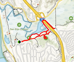 Annies Canyon and Rios Avenue Trail Map