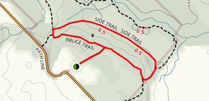 Limehouse Side Trail Map
