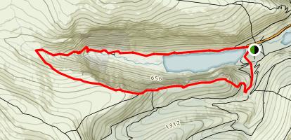 Glendalough 'White' Route Map
