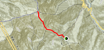 Mount Tanigawa Trail Map