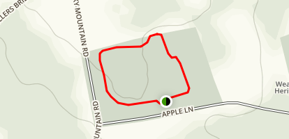 Hurlburt Park Loop Map