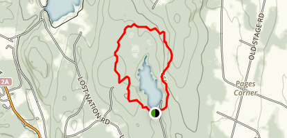 Indian Brook Outer Loop (PRIVATE PROPERTY) Map