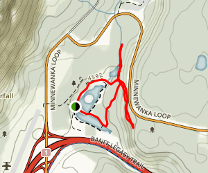 Cascade Ponds Map