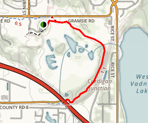 Grass Lake Trail Map