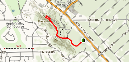 Bass Hill Trail Map
