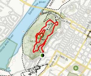 Mount Rubidoux Trail Map