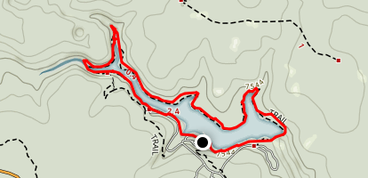 Woods Canyon Lake Trail Map