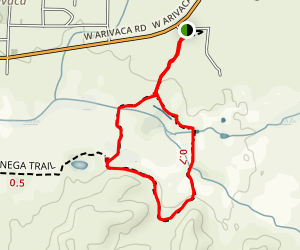 Cienega Trail Map