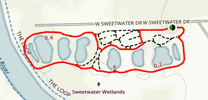 Sweetwater Wetlands Loop Map