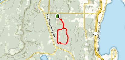 Newberry Hill Heritage Park Loop Map