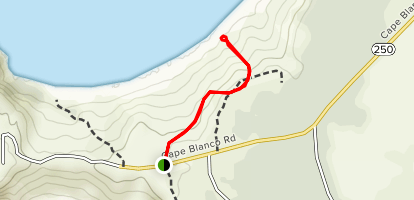 Cape Blanco Coastal Trail Map