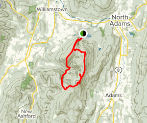 Mount Prospect, Mount Williams, and Mount Greylock Loop via ...