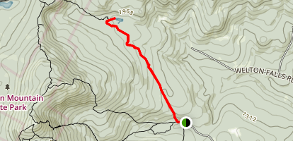 Back 80 Trail to Beaver Pond Map