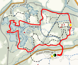 Dukes Farm Trail Map