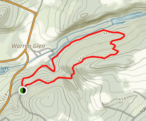 Musconetcong Gorge Map