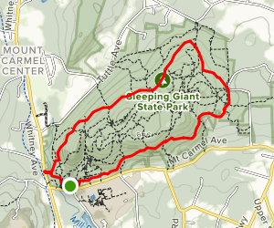 Violet Trail to Yellow Trail Loop [CLOSED] Map