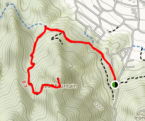 Red Mountain  Map