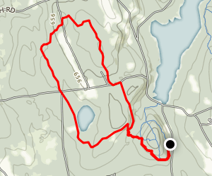 Swope Loop to Pine Hill Map