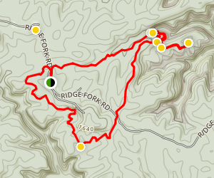 Slave Falls Trail Map