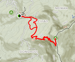 Dadong Peak Map