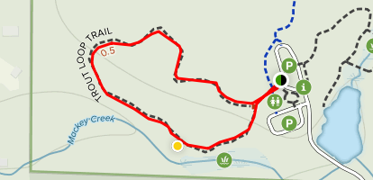 Trout Loop Trail Map