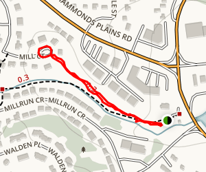 Mill Run Trail  Map