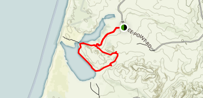 Abbotts Lagoon Alternate Loop Map