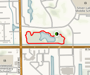 Hampton Park Loop Map