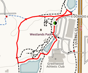 Westlands Park Loop Map