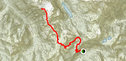 Tomyhoi Peak Map