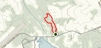 Deer Loop Trail Map