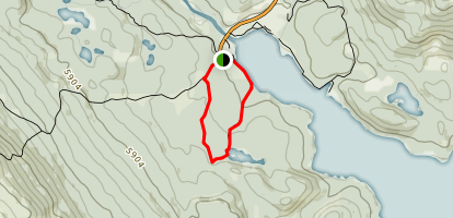 Moose Lake Loop Map