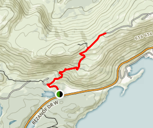 Pillar Mountain Trail Map