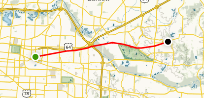 Shelby Farms Greenline Map