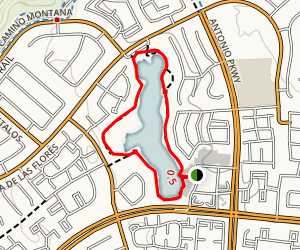Santa Margarita Lake Loop Map