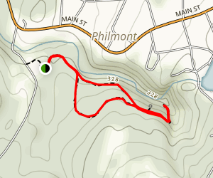 High Falls Conservation Area Loop Map