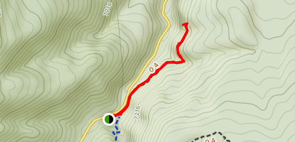 Sandia Cave Trail Map