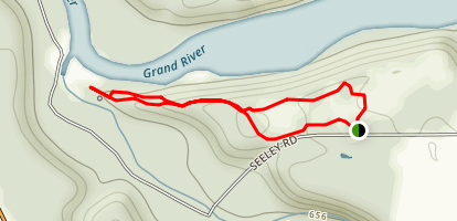 Point Overlook Loop Trail Map