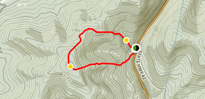 Halcott Mountain Map