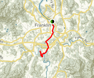 Little Tennessee River Greenway Map