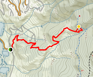 Angler Mountain Trail #29 Map
