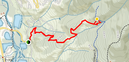 Angler Mountain Trail #29 [PRIVATE PROPERTY] Map