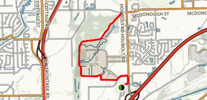 Rock Run Greenway Map